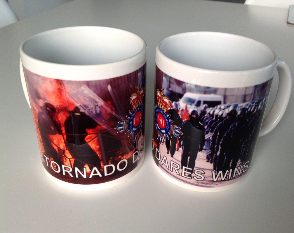 One HM Prison Service Tornado Ceramic Mug
