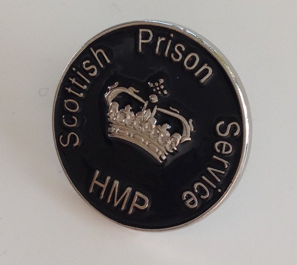 Scottish Prison Service Officer Pin Badge