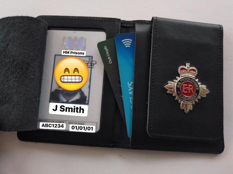 HM Prison Service Officer Wallet