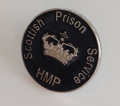 Scottish Prison Service Officer Pin Badge