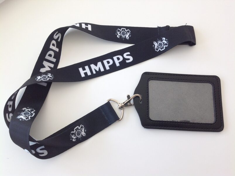 HMPPS Prison - Probation Officer ID Holder / Lanyard
